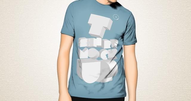 t-shirt mockup, t-shirt template