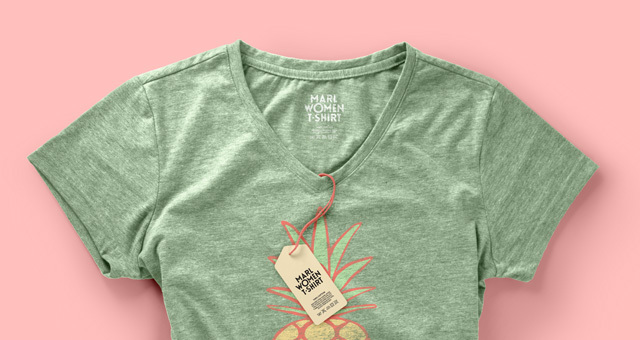 woman's t-shirt template, woman's t-shirt mockup