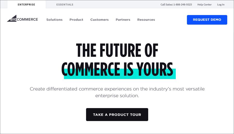 Bigcommerce website