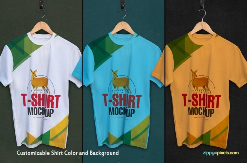 t-shirt mockups, t-shirt templates