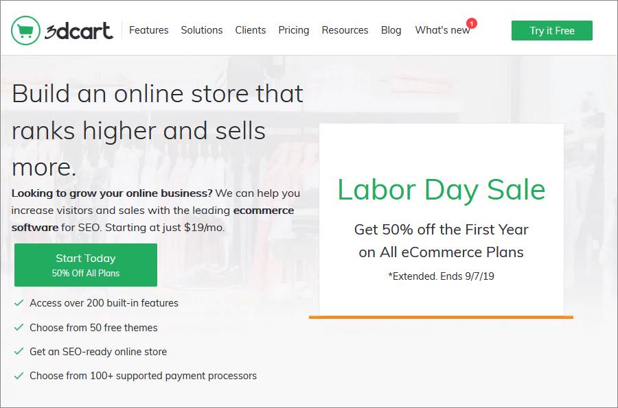 3dcart website
