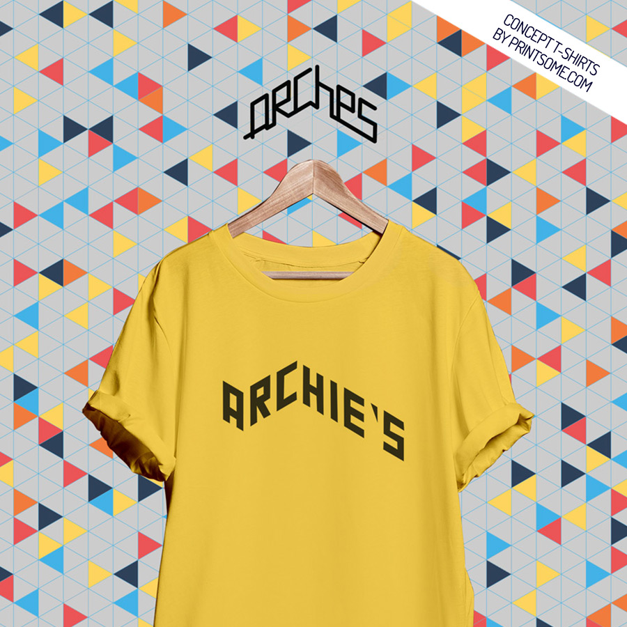 A t shirt line inspired by leeds under the arches for Printed t shirts leeds