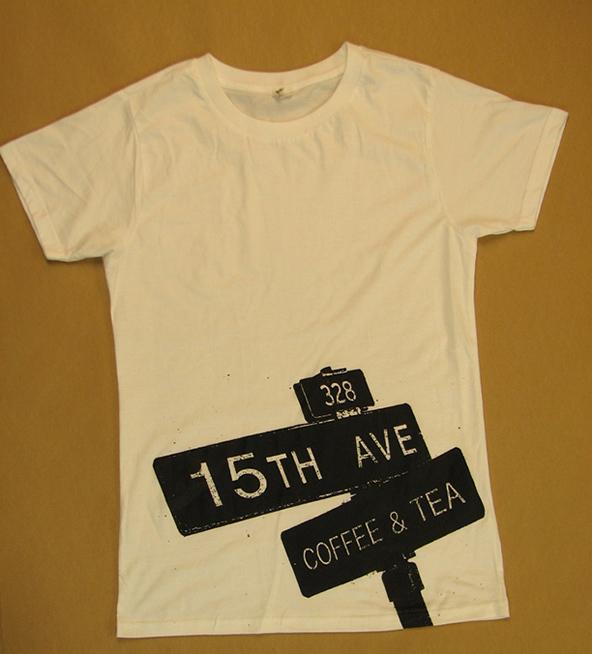 15th avenue and coffee t-shirt, coffee t-shirt, london coffee festival, coffee shirts