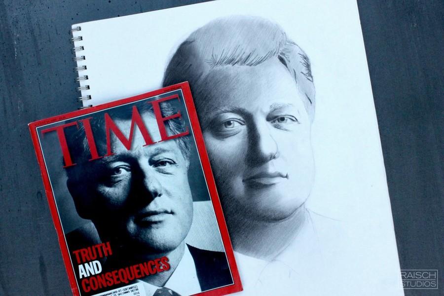 1990s_Portraits_BillClinton