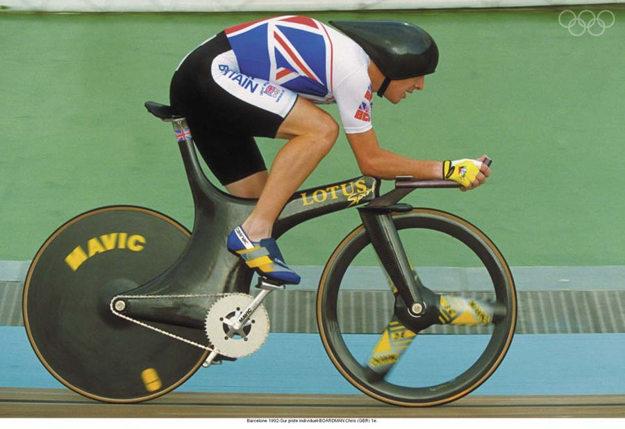 Chris Boardman broke a 72 year draught for Great Britain when he won gold in cycling at the 1992 Olympics in Barcelona.
