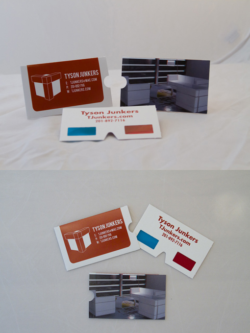 3d businesscards - Bottle Opener Business Cards