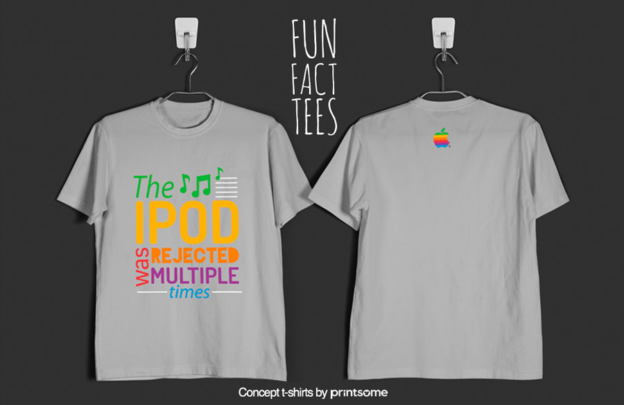 4.ipod-rejection, Facts t-shirts