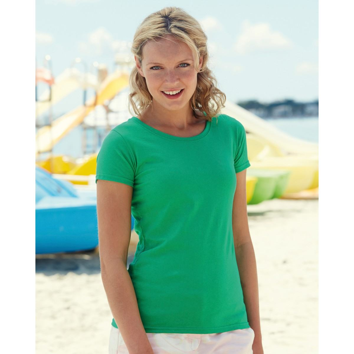 Classic Green T-shirt for women
