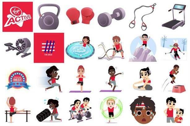 New Year's Eve, Marketing Campaign, Emojis, Virgin