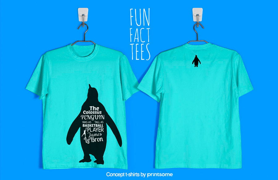 7.-penguins-and-basketball, Facts t-shirts
