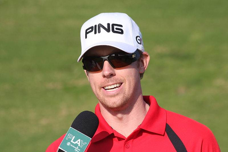 Golf Polo shirts Hunter Mahan
