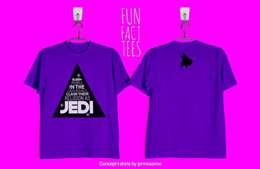 9.-stars-wars-and-czech-republic, Facts t-shirts