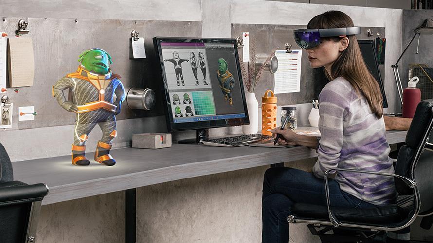 AR Microsoft