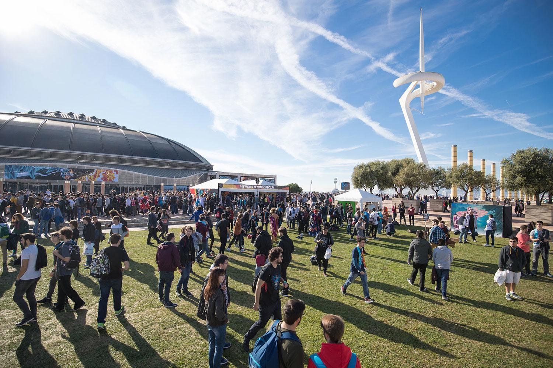 Allstars-Barcelona-2016 actividades exterior Palau Sant Jordi esports development manager