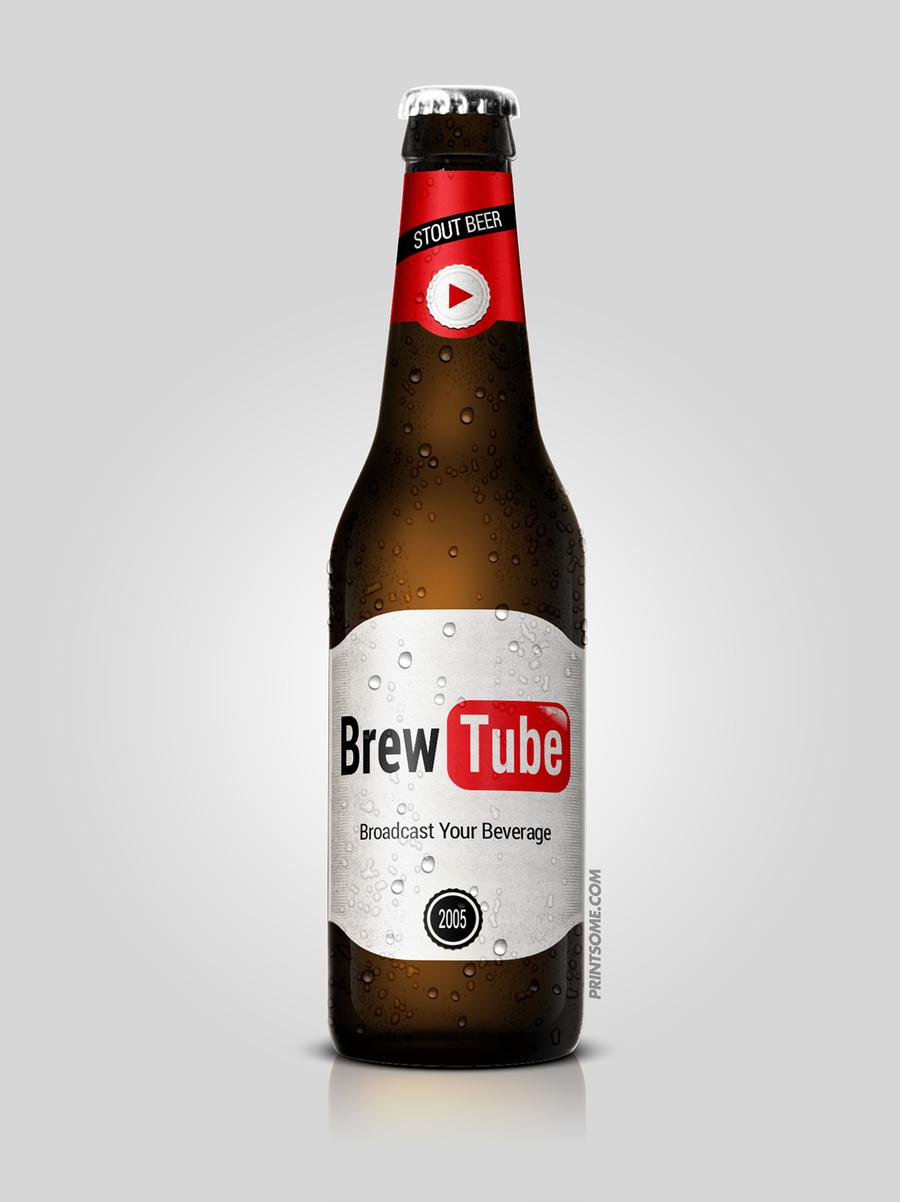 BeerTube, beer bottles