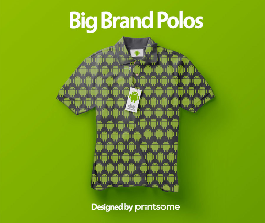 Big-brand-polos-android1, personalised polo shirts