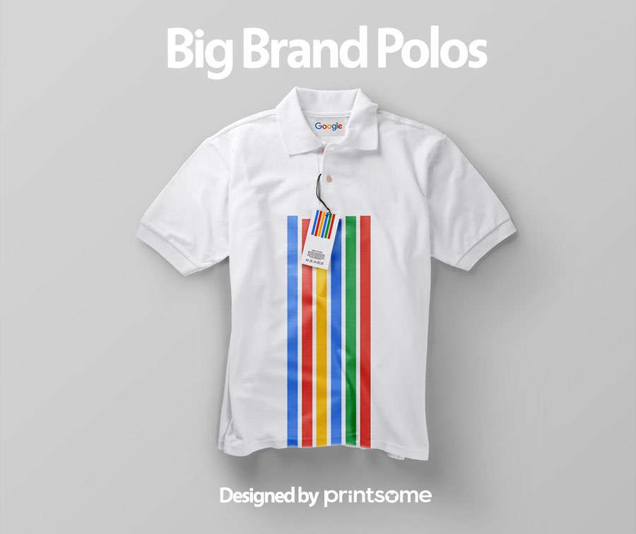 Big-brand-polos-google1, personalised polo shirts