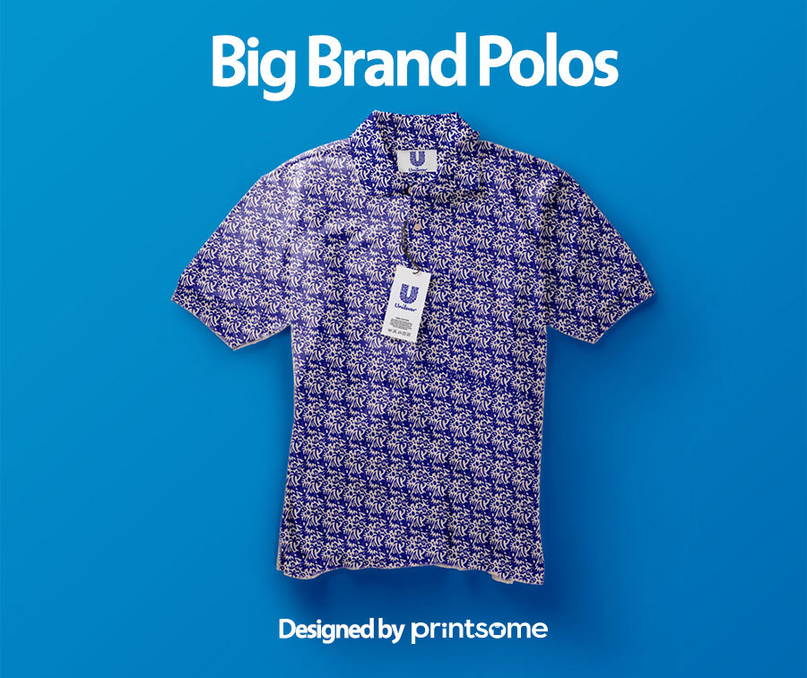 Big-brand-polos-unilever1, personalised polo shirts