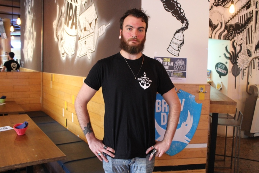 Brew dog t-shirt, printed t-shirt,