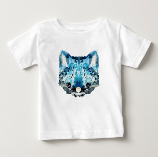 Blue Kittie T-shirt by Horton Clothing