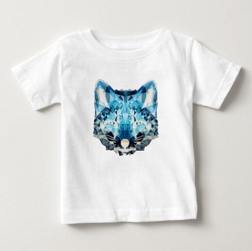 Blue Kittie T-shirt by Horton Clothing