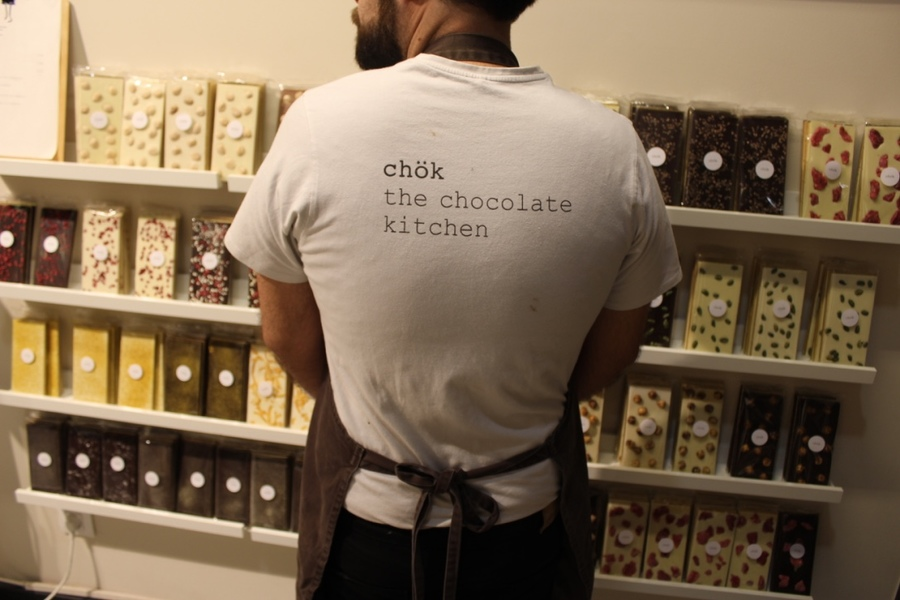 Chok workwear, screen printed t-shirts