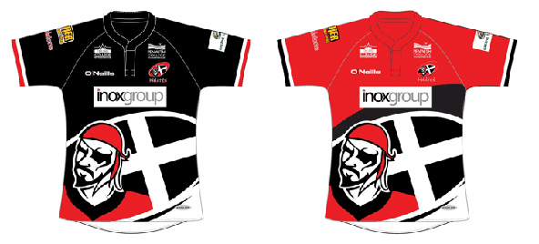 The Cornish Pirates Kit, Rugby, Cornish T-shirts, Cornwall, screen printing, t-shirts