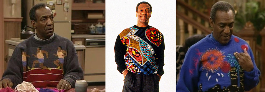 ugly xmas sweaters, bill cosby sweaters,