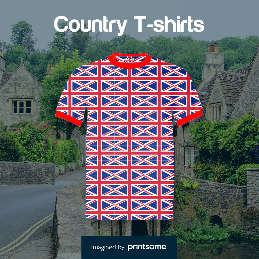 Country tshirts British