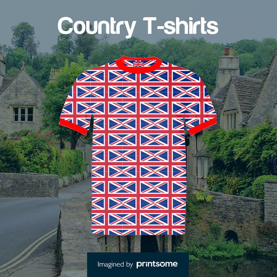 Country tshirts British