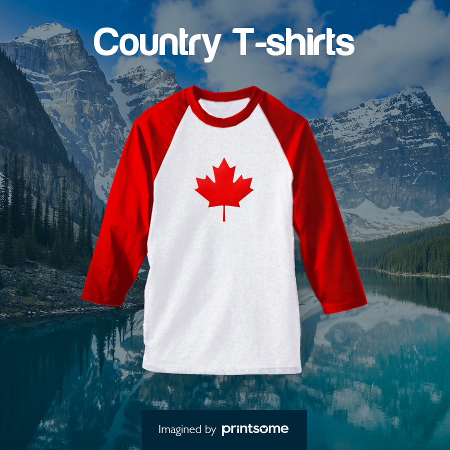 Country tshirts Canadian