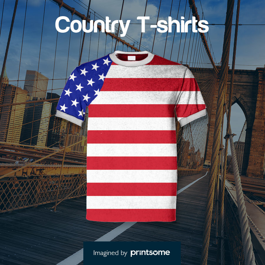 Country tshirts USA