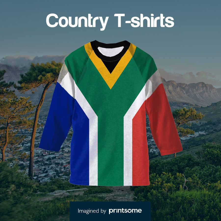 Country tshirts south-africa