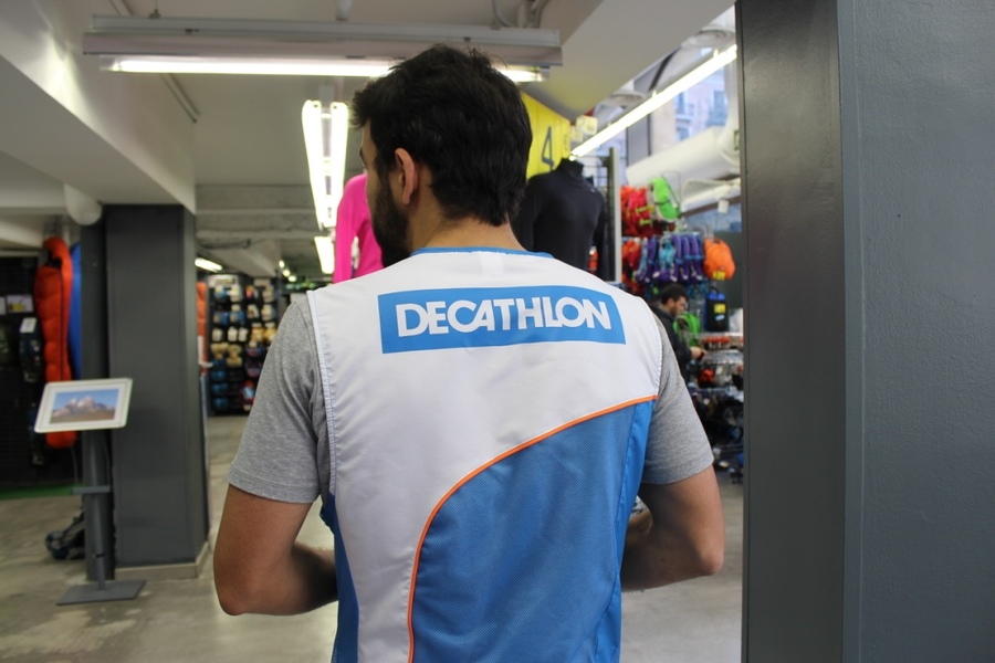 Decathlon Workwear, printed vests