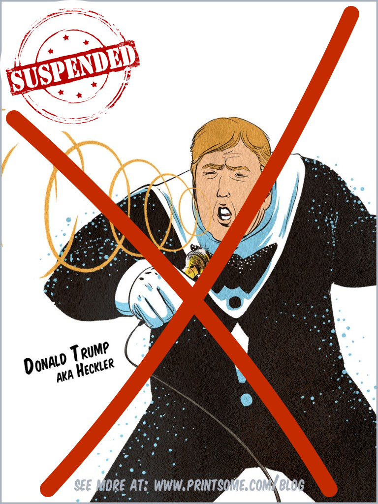 Donald Trump - suspended
