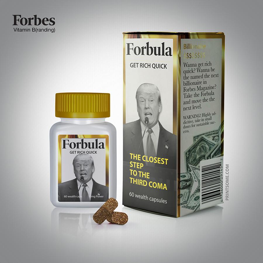 forbula vitamin branding