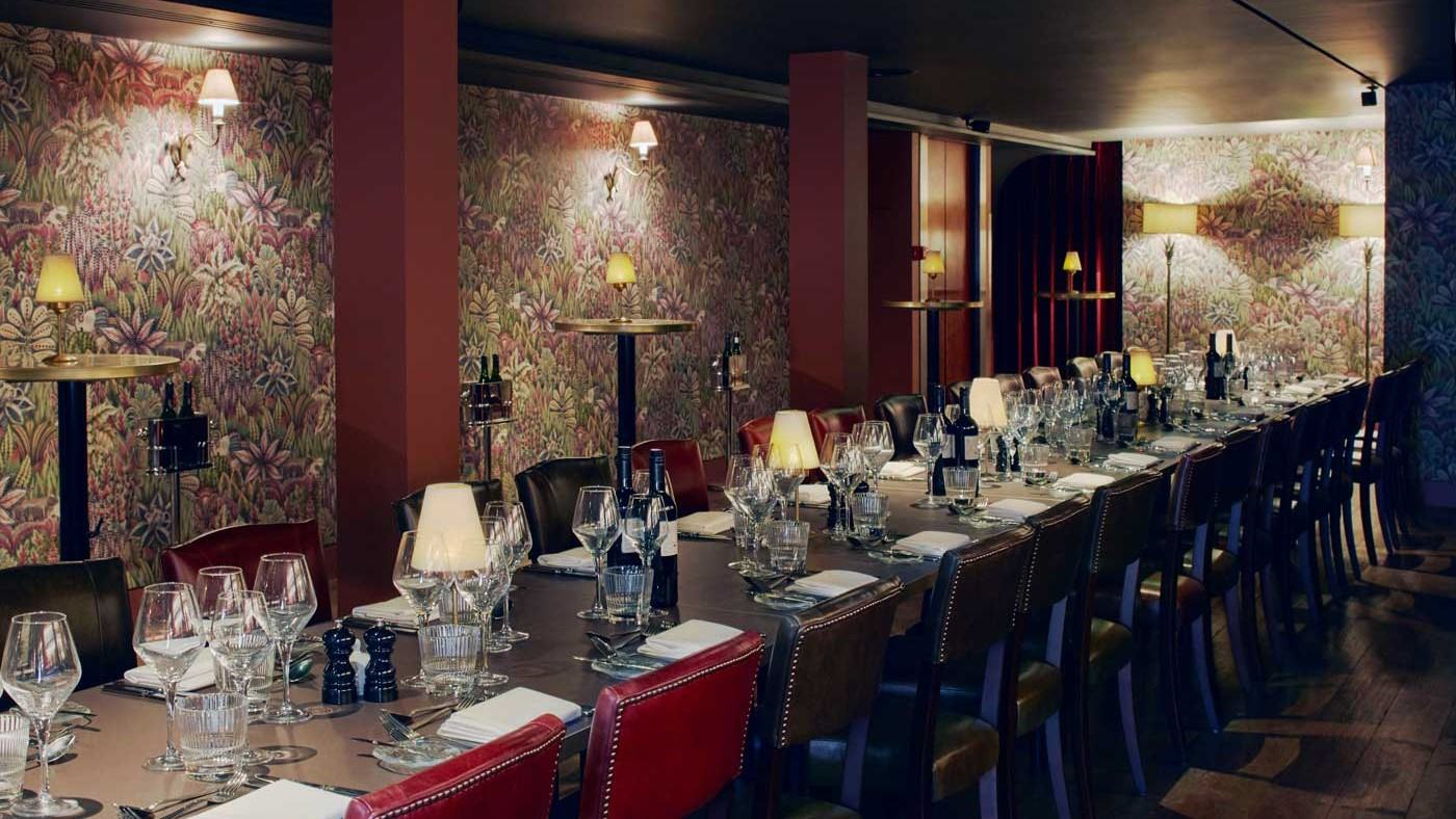 grace hall, private dining rooms