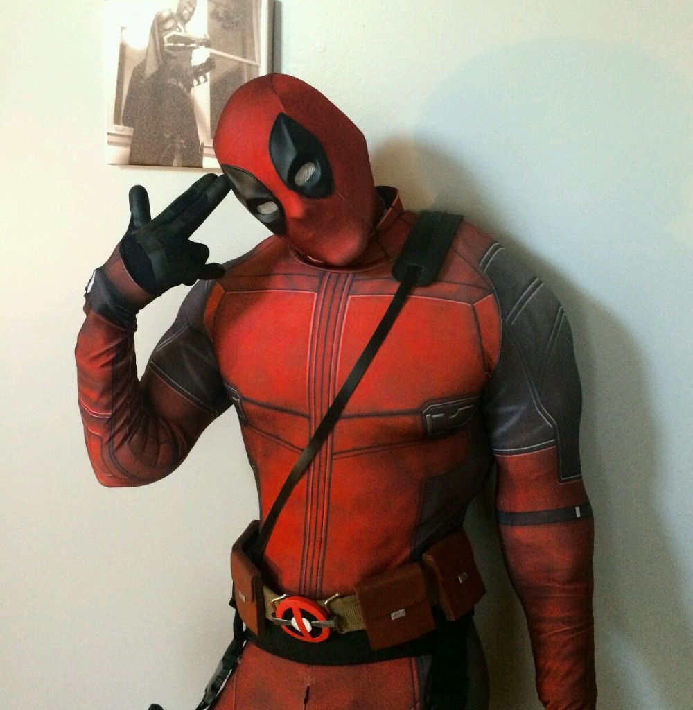 Halloween deadpool outfit
