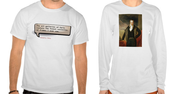 Humphry Davey, Cornish T-shirts, Cornwall, Kernow, T-shirt printing Cornwall,