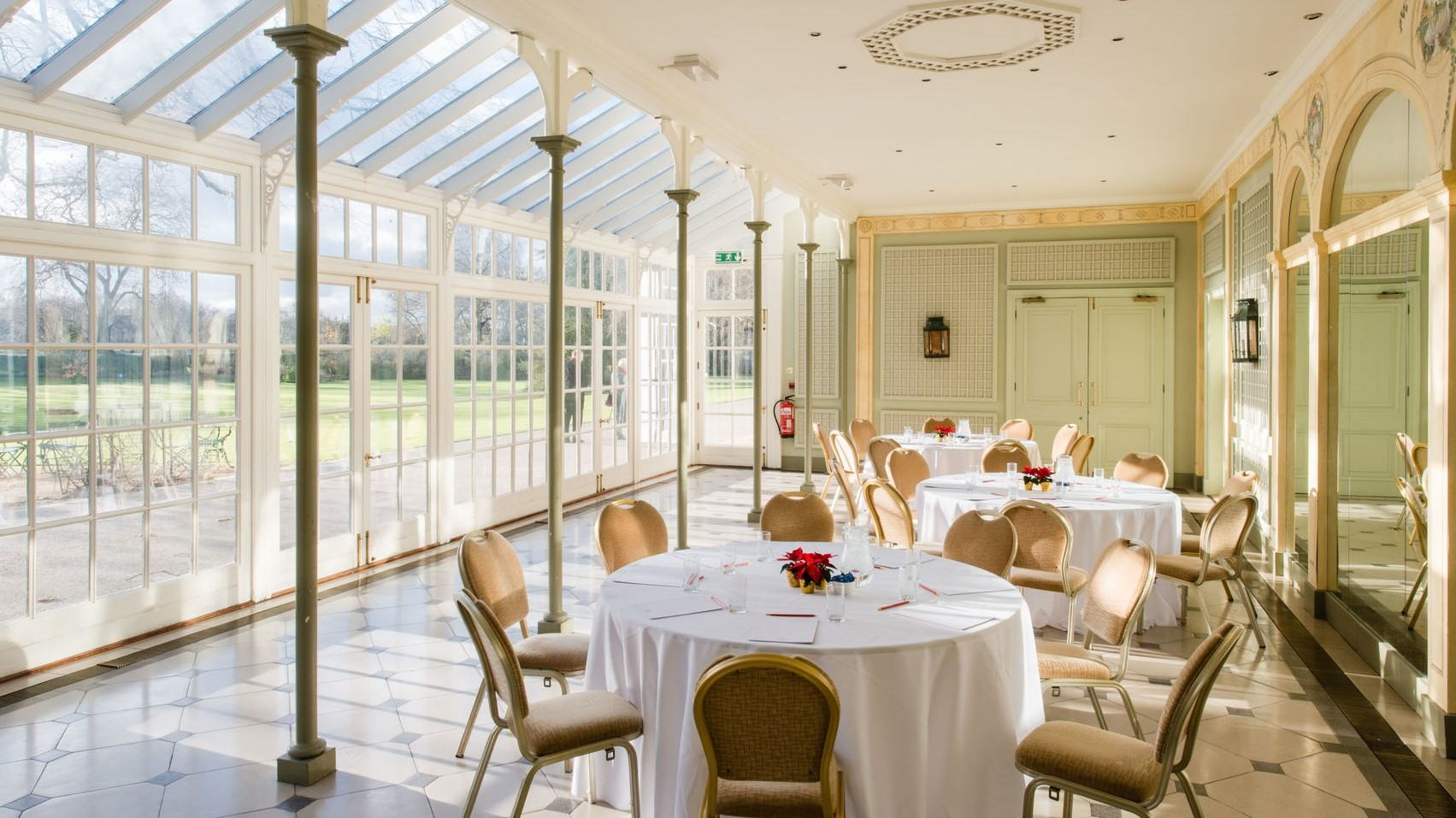 hurlingham club, private dining rooms london