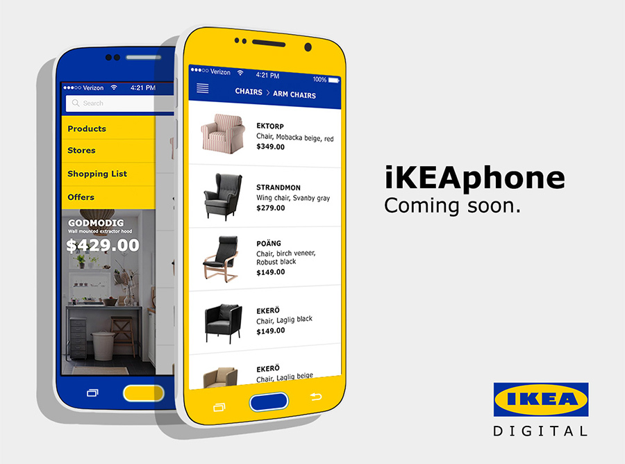 ikea phone, ikea other products, ikea iphone