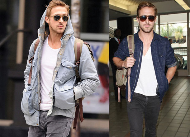 Ryan Gosling knows how to dress himself.