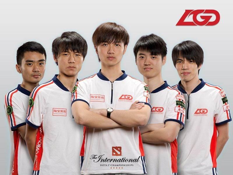 LGD, eSports Teams