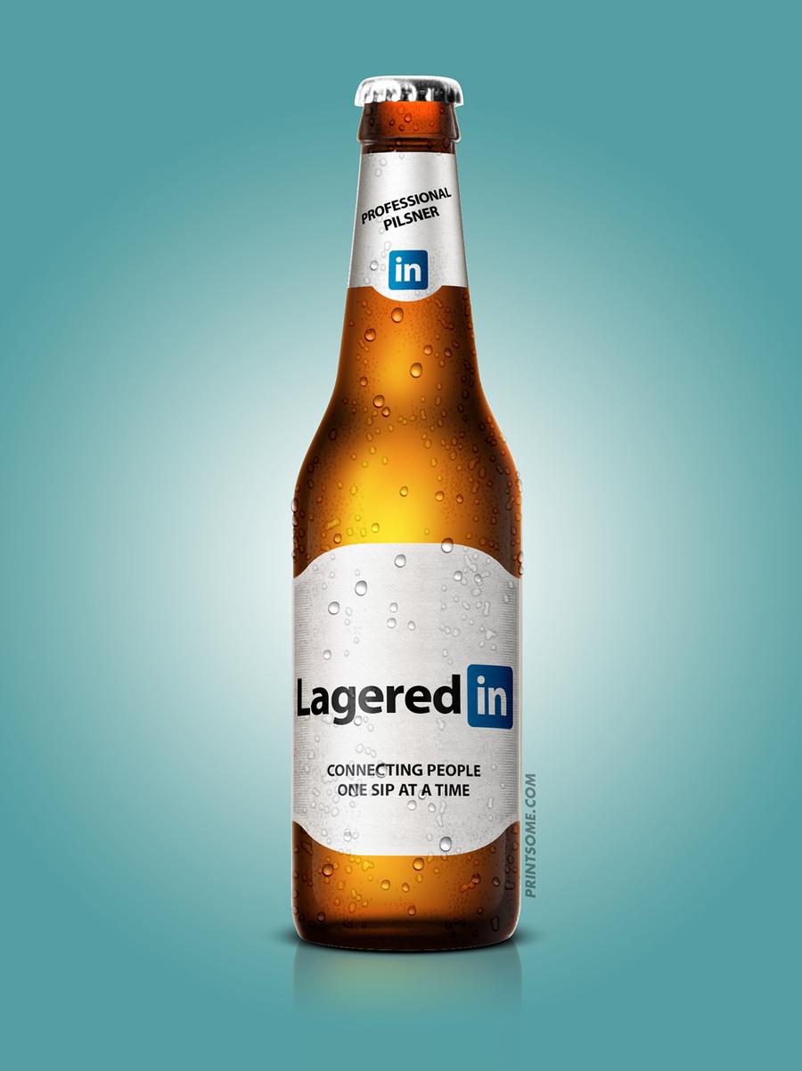 LageredIn, beer bottles