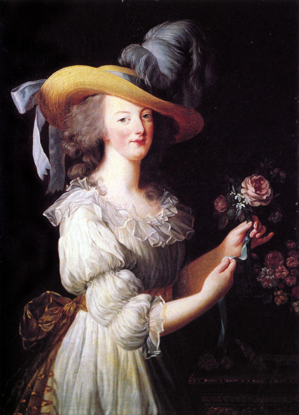 Marie Antoinette painting, workwear trend