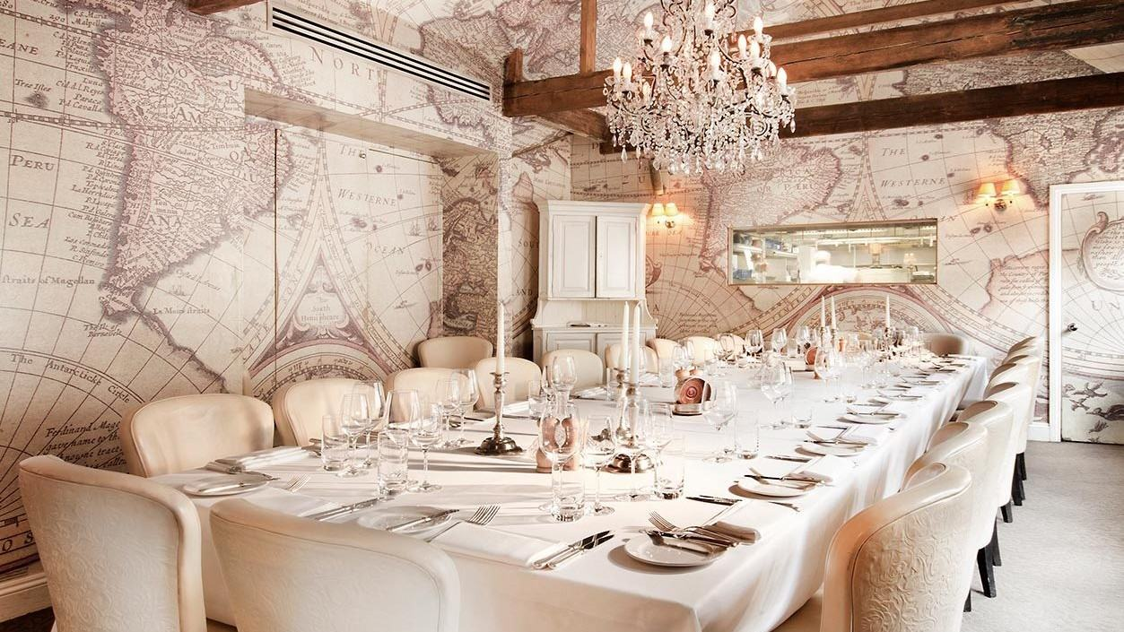 mews of mayfair, private dining rooms london