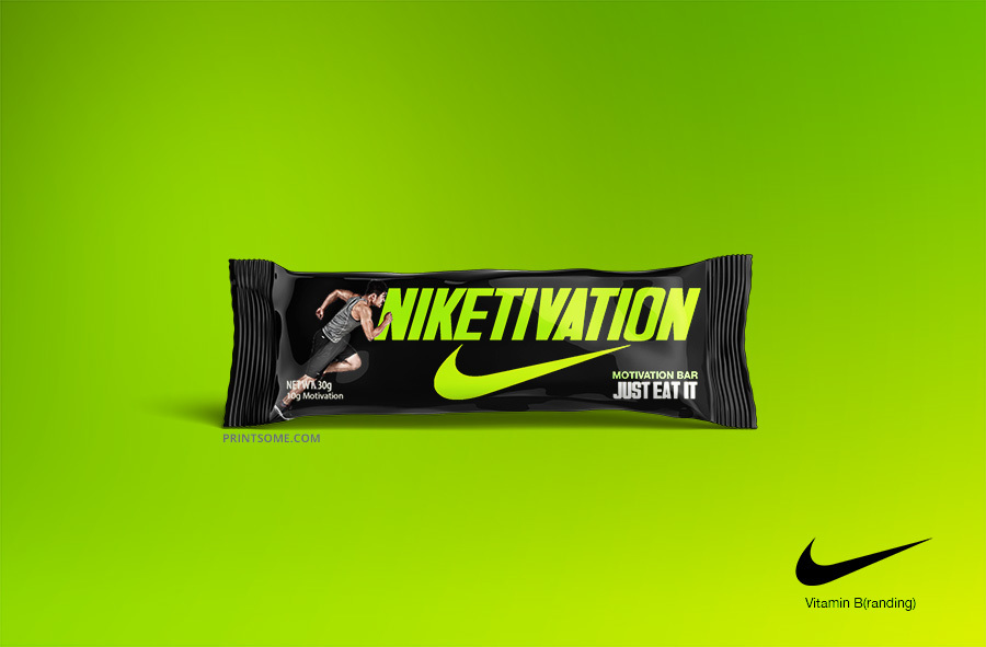 nike vitamin branding