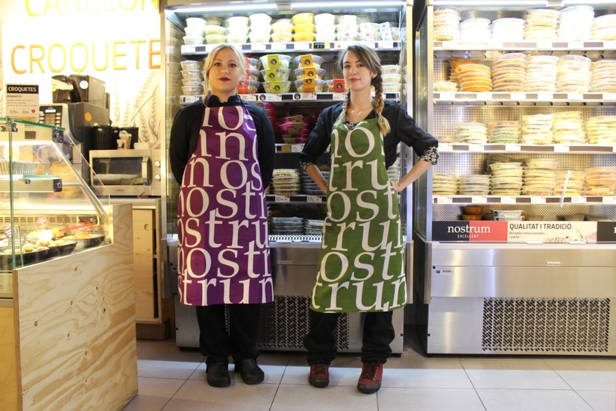 Nostrum work Uniform, personalised aprons