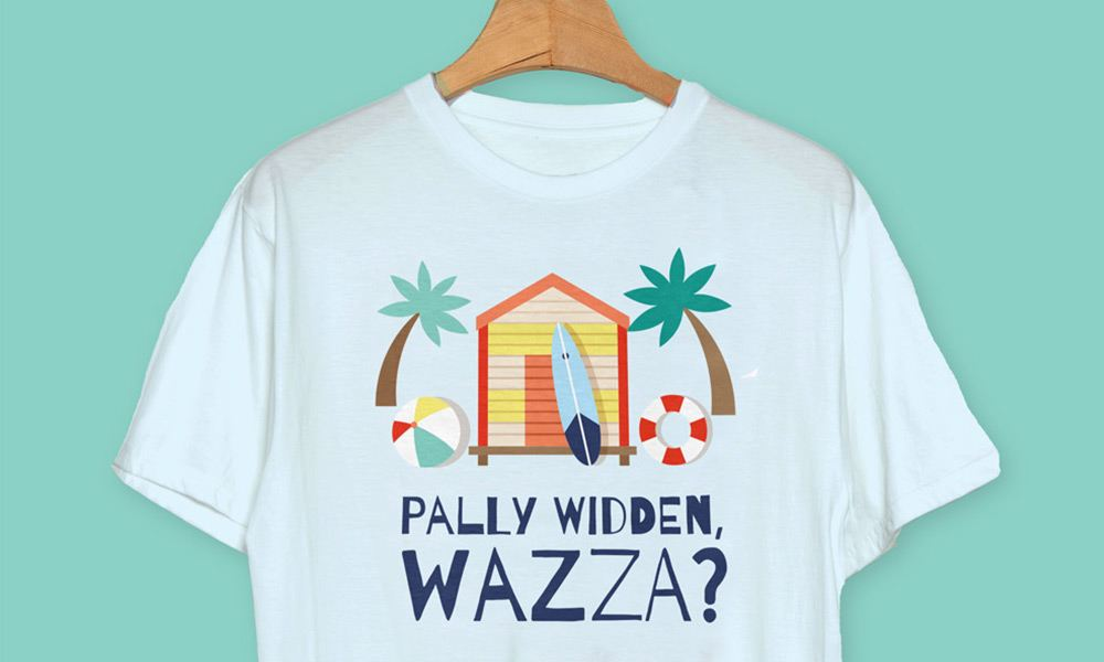 Pally Widden - Cornwall T-shirts