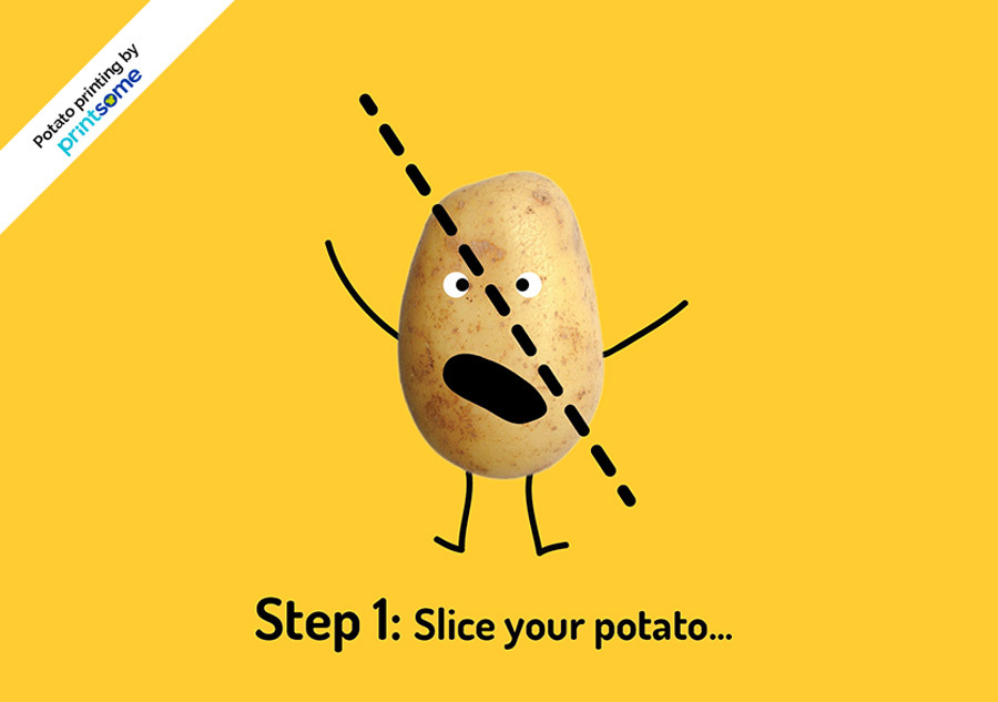 Potato-printing-step-1